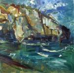 port-william-oil-on-board-chris-thomas