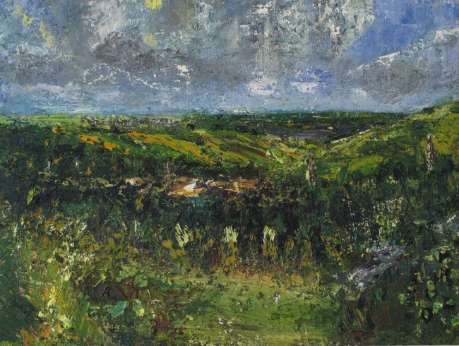 chris-thomas-st-breward-rain-approaching-from-delabole-3-x-4-oil-on-board